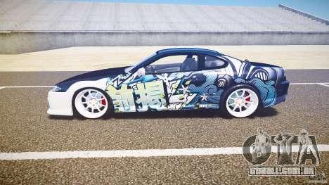 Nissan Silvia S15 Drift v1.1 para GTA 4 traseira esquerda vista