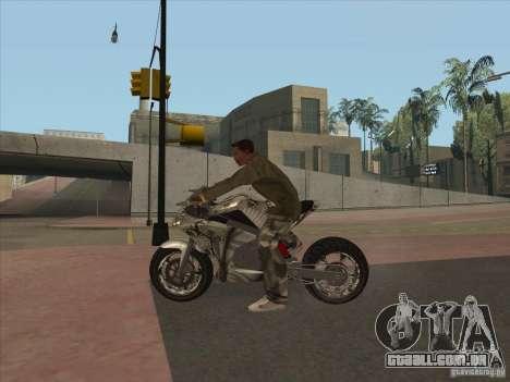 TLaD Double T Custom para GTA San Andreas vista direita