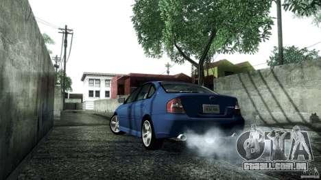 Subaru Legacy B4 3.0R specB para GTA San Andreas vista direita