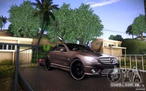 Mercedes Benz CL65 AMG para GTA San Andreas