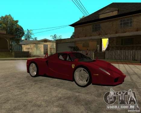 Ferrari ENZO 2003 v.2 final para GTA San Andreas vista direita