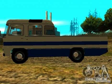 SULCO 672.60 ao ar livre para GTA San Andreas esquerda vista