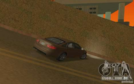 Audi RS6 TT Black Revel para GTA San Andreas vista direita