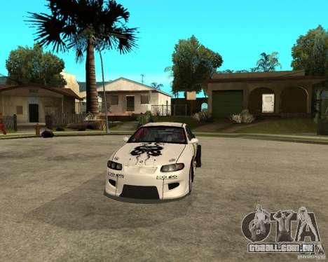 Vauxhall Monaro Rogue Speed para GTA San Andreas vista traseira