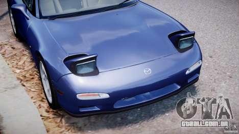 Mazda RX-7 1997 v1.0 [EPM] para GTA 4 interior
