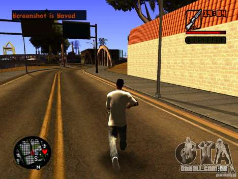 GTA IV Animation in San Andreas para GTA San Andreas segunda tela