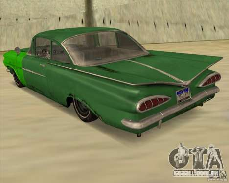 Chevrolet Biscayne 1959 para GTA San Andreas esquerda vista