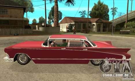 Buick LaNuit para GTA San Andreas esquerda vista