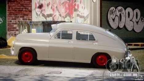 GÁS M20V ganhar americano 1955 v 1.0 para GTA 4 esquerda vista