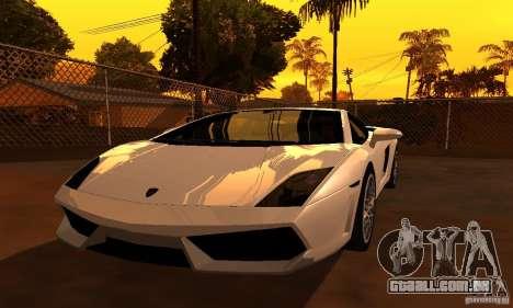ENBSeries by JudasVladislav para GTA San Andreas segunda tela