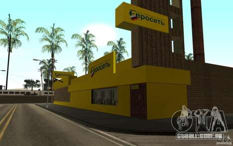O Euroset loja para GTA San Andreas