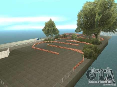 New Drift Track SF para GTA San Andreas terceira tela