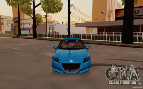 Honda CR-Z 2010 V3.0 para GTA San Andreas vista interior