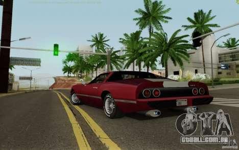 Phoenix HD para GTA San Andreas esquerda vista