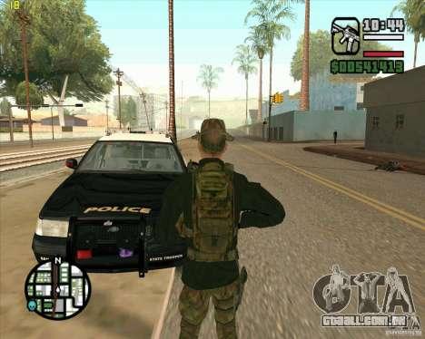 Praice pele de COD 4 para GTA San Andreas terceira tela