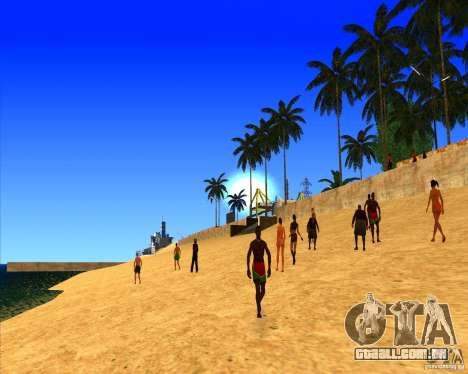 Belo cenário ENBSeries para GTA San Andreas terceira tela