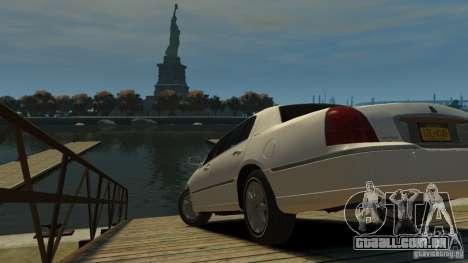 Lincoln Town Car 2003-11 v1.0 para GTA 4 esquerda vista
