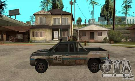 Nevada from FlatOut 2 para GTA San Andreas esquerda vista