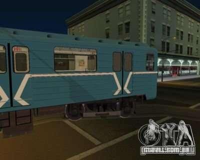 Animtrain para GTA San Andreas segunda tela
