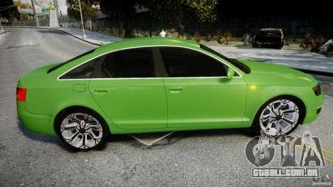 Audi A6 TDI 3.0 para GTA 4 vista superior