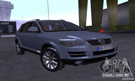 Volkswagen Touareg para GTA San Andreas esquerda vista
