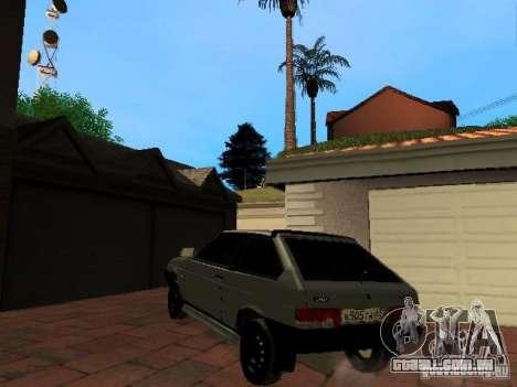 VAZ 2108 Gangsta Edition para GTA San Andreas esquerda vista