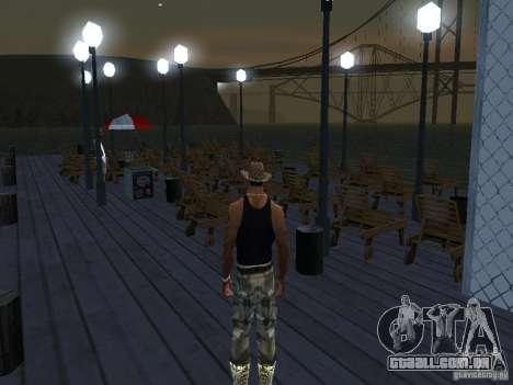 Happy Island Beta 2 para GTA San Andreas por diante tela