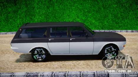 GAZ 24-12-1986-1994 Tuning para GTA 4 vista interior