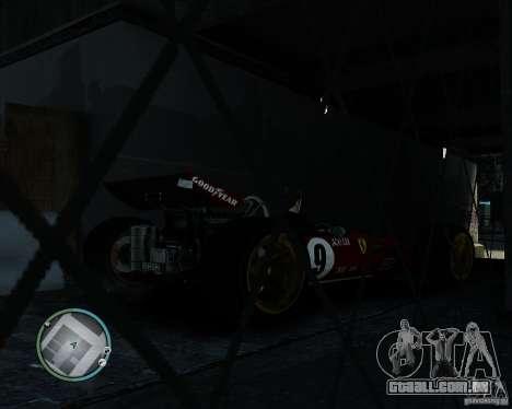 Ferrari F1 v1.0 para GTA 4 traseira esquerda vista