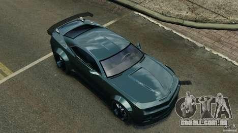 Chevrolet Camaro SS EmreAKIN Edition para GTA 4 vista inferior
