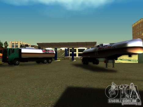 DFT-30 c tanque para GTA San Andreas vista direita