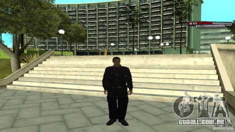 Oficial de polícia para GTA San Andreas por diante tela