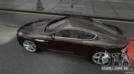 Aston Martin DBS v1.0 para GTA 4 esquerda vista