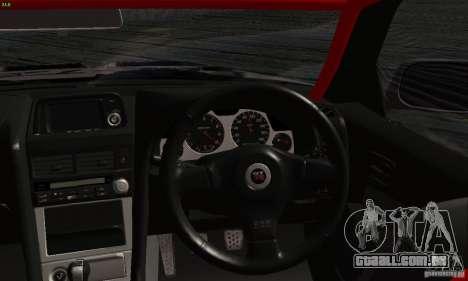 Nissan Skyline R34 Blitz para GTA San Andreas vista direita