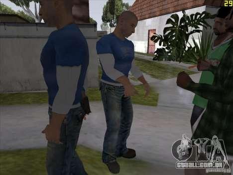 Vin Diesel para GTA San Andreas por diante tela