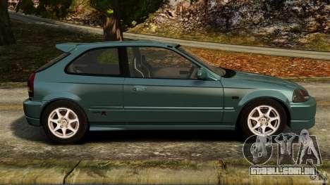 Honda Civic Type R (EK9) para GTA 4 esquerda vista