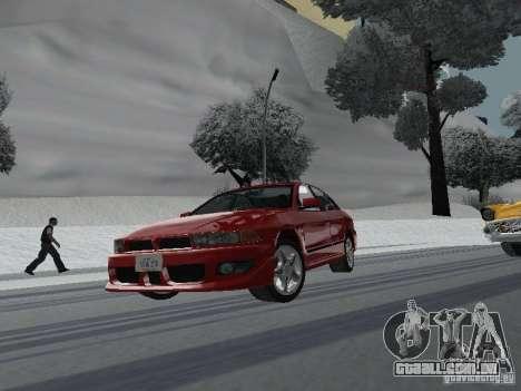 Mitsubishi Galant VR6 para GTA San Andreas vista traseira