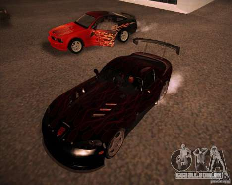 Dodge Viper TT para GTA San Andreas esquerda vista