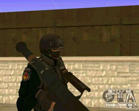 A pele das forças especiais ucranianas para GTA San Andreas