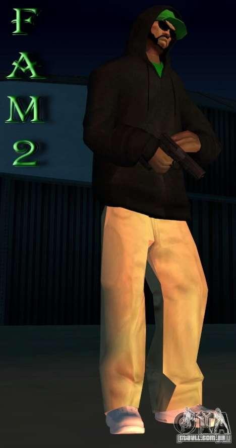 Mod pack by Grove v.1 para GTA San Andreas segunda tela
