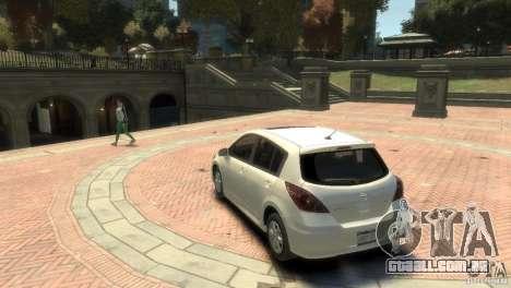 Nissan Versa SL para GTA 4 vista direita