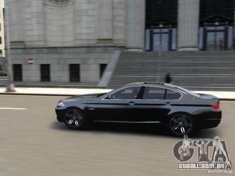 BMW 550i F10 para GTA 4 esquerda vista