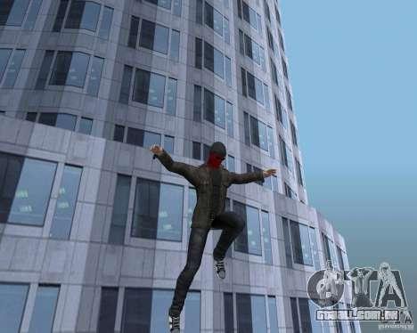 Spider Man para GTA San Andreas sexta tela
