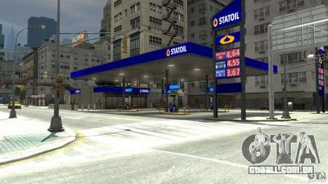 Statoil Petrol Station para GTA 4
