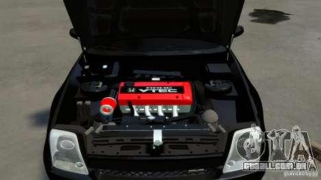 Honda Prelude SiR VERTICAL Lambo Door Kit Carbon para GTA 4 vista lateral