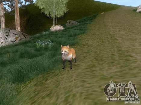 Wild Life Mod 0.1b para GTA San Andreas oitavo tela
