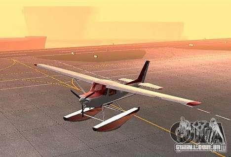 Opção de água Cessna 152 para GTA San Andreas