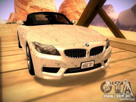BMW Z4 sDrive28i 2012 para GTA San Andreas vista direita