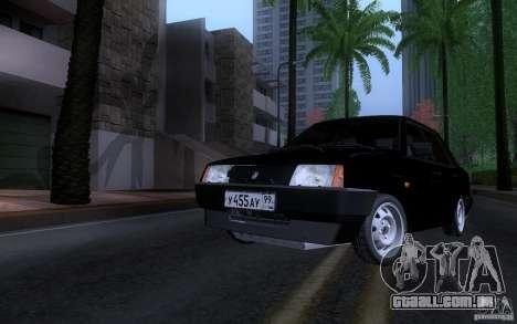 Blueline Vaz 21099 para GTA San Andreas