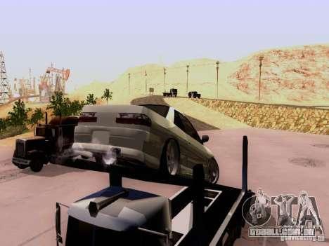 Nissan 240SX (S13) para GTA San Andreas vista traseira